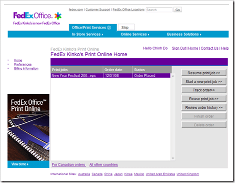 FedEx Office Print Online