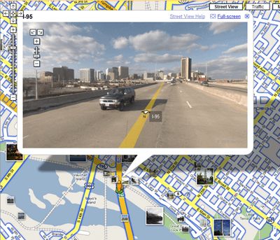 Google Street View Richmond Virginia
